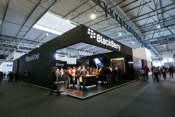 stand blackberry mwc 2017
