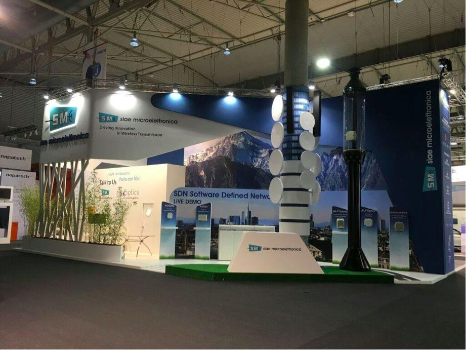 SIAE stand mwc