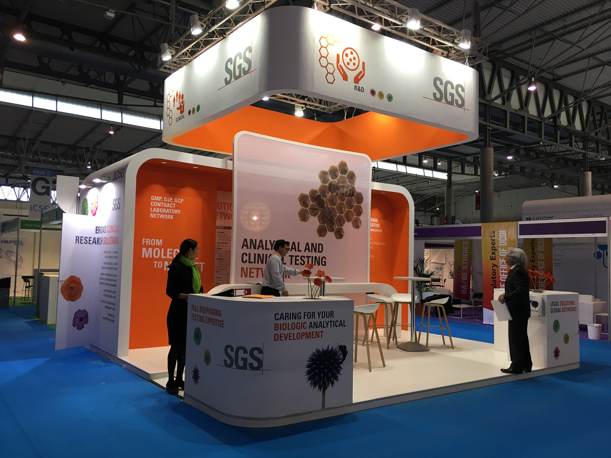 stand sgs, cphi 2016