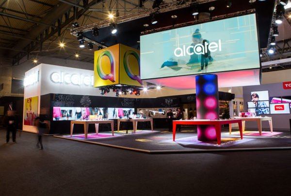stand alcatel 3 mobile world congress 2017